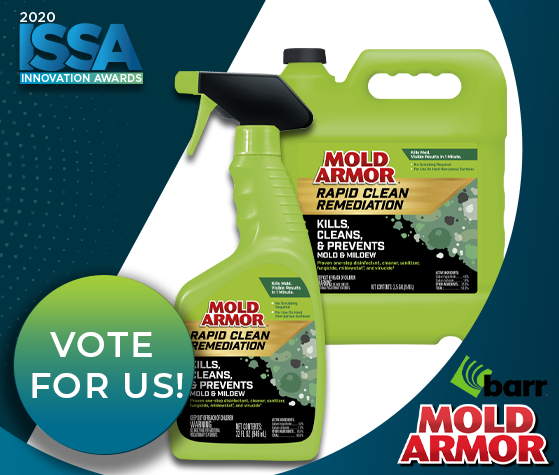 ISSA Show North America Innovation Awards - MOLD ARMOR Rapid Clean Remediation